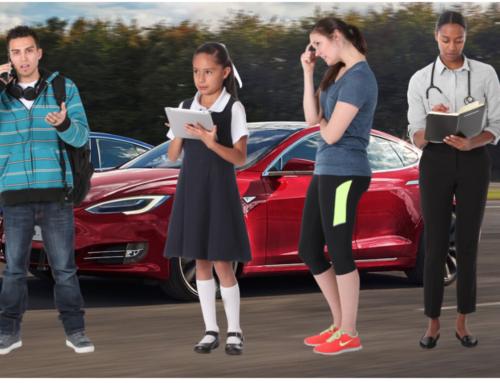 Enthousiaste Tesla eigenaren willen helpen