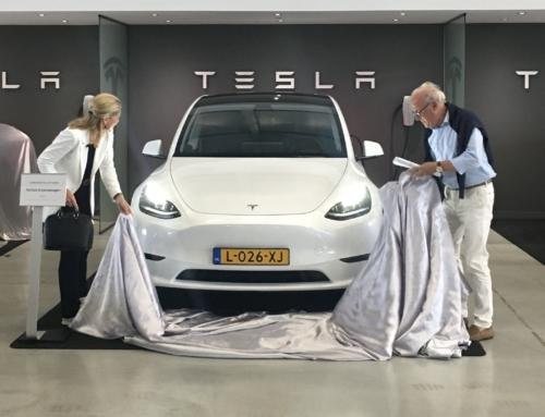 Eerste leveringen Tesla Model Y in Nederland