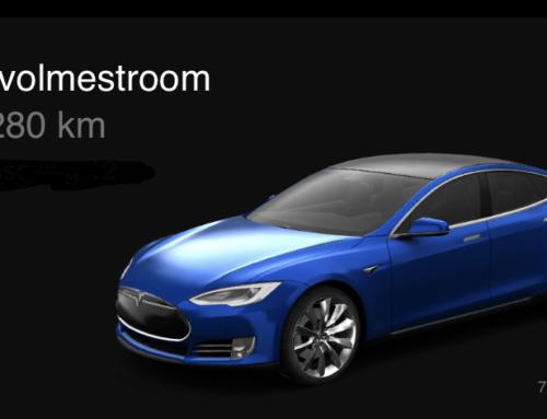 De Tesla App door de jaren heen